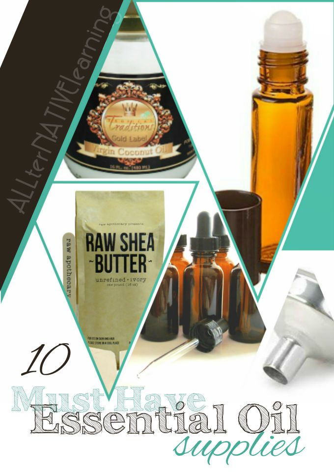 10 Must Have Essential Oil Supplies | Essential Oil Uses | Where to buy essential oils