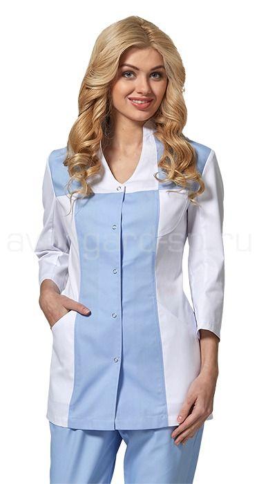 """Блуза женская LL2102 Lantana / Блузы и топы / Женская одежда """"Lantana"""" / Медицинская одежда"""