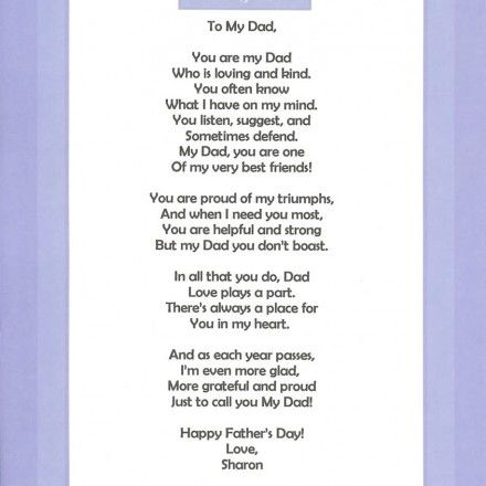 father daughter quotes poems - Google Search | Poems ... Fathers Day Poems From Daughter