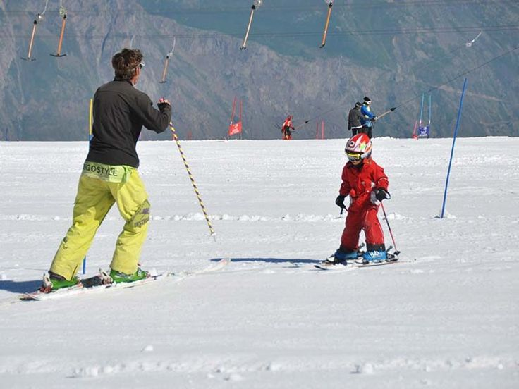 Children's ski lessons in Les 2 Alpes with FIRSTRAX