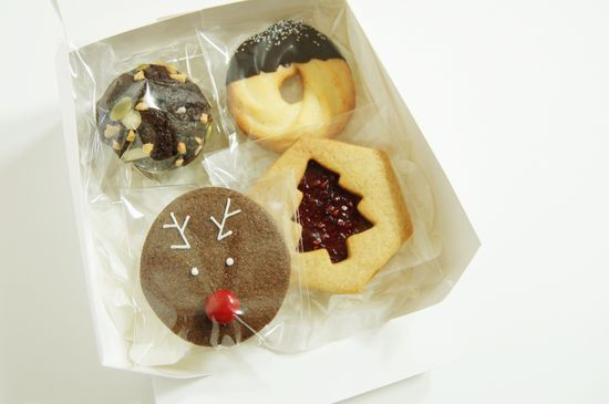 2013. christmas gift box - cookies