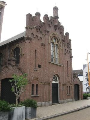 Tilburg also has beautiful religious buildings like this Jewish Synagoge.