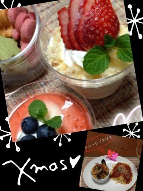 パエリアはチョピお焦げが(*≧艸≦)それもアクセントで美味しい?かも… - 5件のもぐもぐ - カップでチーズケーキ&パエリア&トマトパスタヽ(*⌒▽⌒*)ノ♪ by yuki5yuki