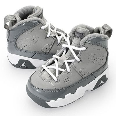 Nike Baby Air Jordan 9 Retro TD Size 4c Cool True DMP   eBay