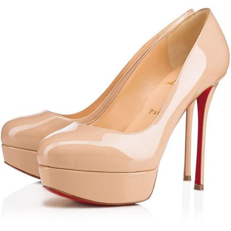 Christian Louboutin Zapato de barco oro