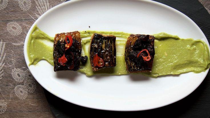 Une recette de maquereau et boudin croustillant, présentée sur Zeste et Zeste.tv.