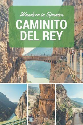 Caminito del Rey: Dieser Wanderweg liegt in Andalusien im Süden Spaniens und wurde früher oftmals als gefährlichster Wanderweg der Welt bezeichnet! Ich leide ein klein wenig unter Höhenangst und war entsprechend nervös...