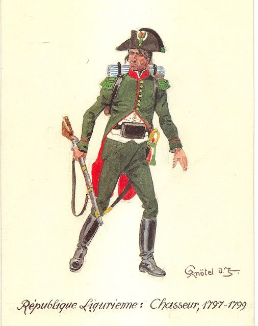 Ligurian Republic Chasseur 1797-99
