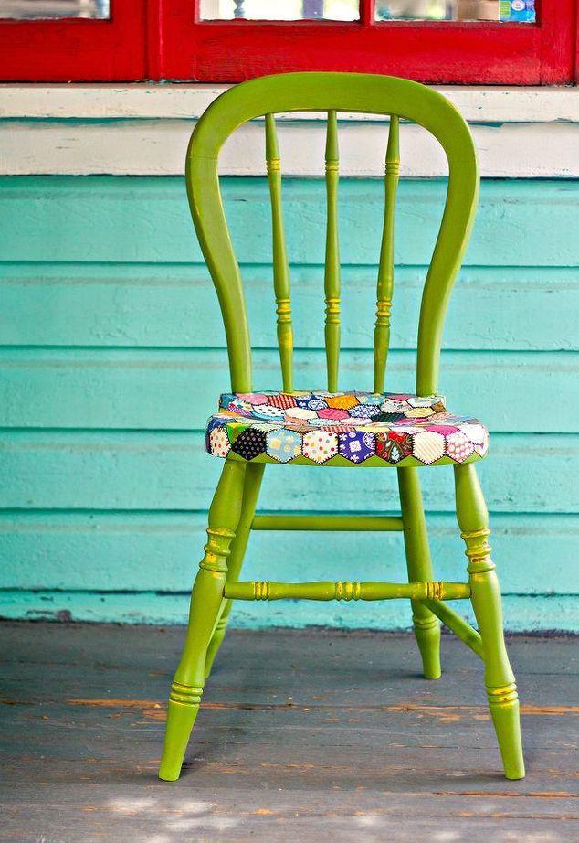 декорирование старых стульев своими руками фото говорит