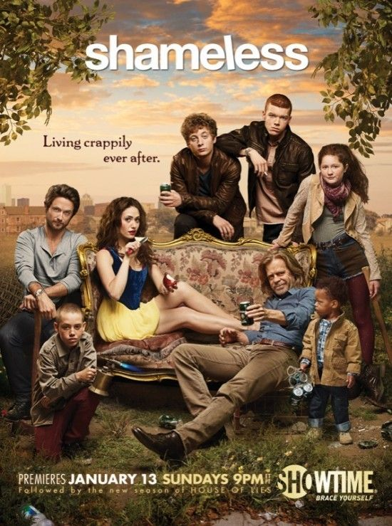 Shameless is shameless and hilarious. Expect the unexpected LOVE IT