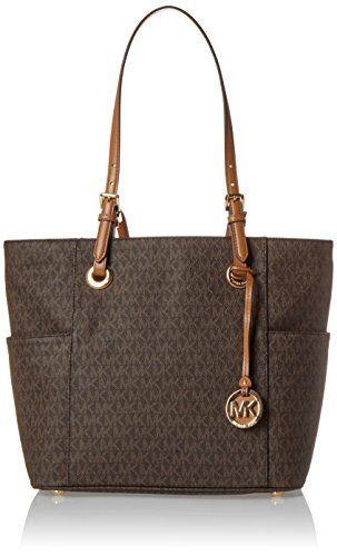 Michael Kors Women S Jet Set Travel Small Logo Tote Bag