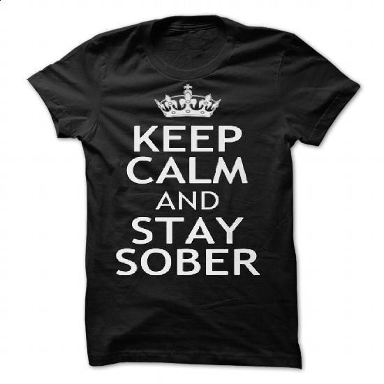 KEEP CALM AND STAY SOBER by red addiction - #best hoodies #white hoodie mens. MORE INFO => https://www.sunfrog.com/Valentines/KEEP-CALM-AND-STAY-SOBER-by-red-addiction.html?60505
