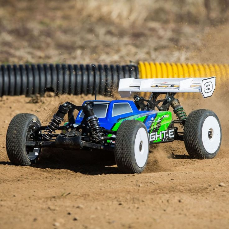 Losi's 8IGHT-E 4-Wheel Drive RTR Buggy http://rcnewb.com/losis-8ight-e-4-wheel-drive-rtr-buggy/