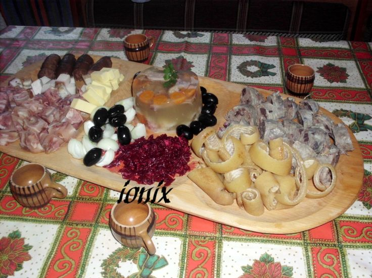 Platou gustări tradiţionale