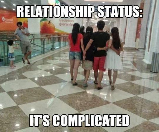 Relationship Status A Little More Than Complicated  Funny -5574