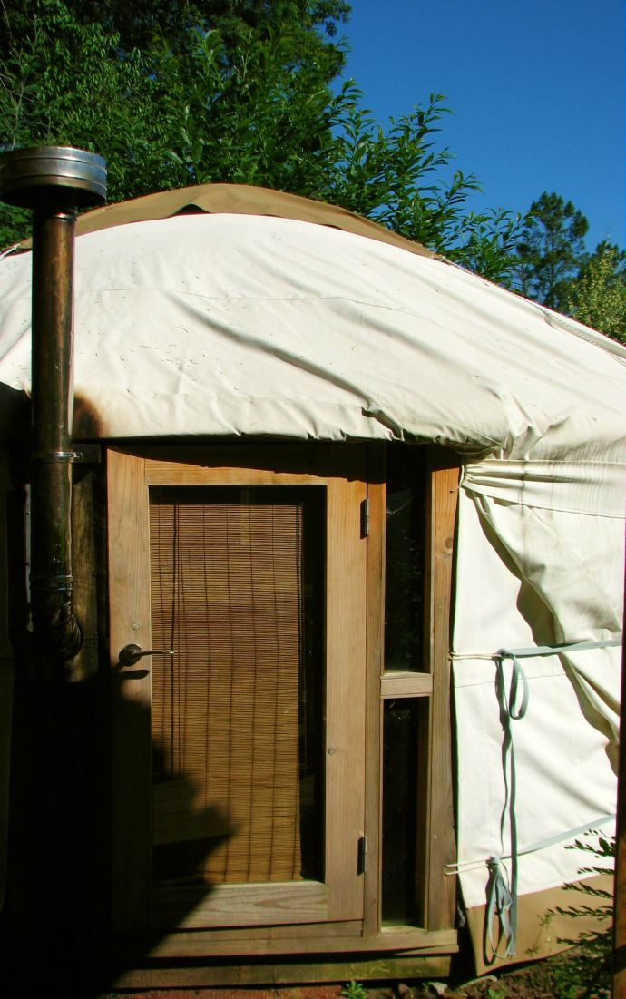 A yurt in Central Portugal