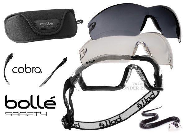 Lunette + masque de protection sport montagne parachute ski alpinisme moto Bollé
