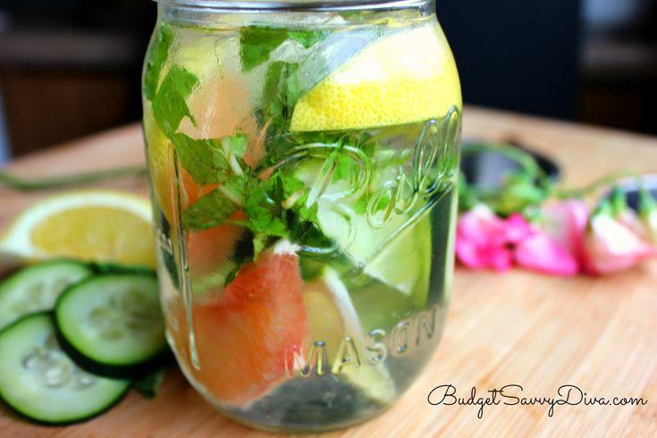 Skinny Detox Water Recipe