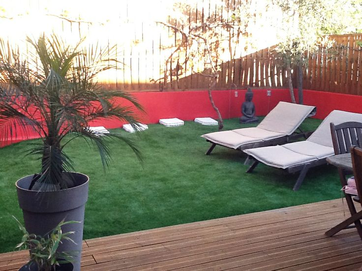 13 best les jardins ont du style images on pinterest astroturf artificial turf and decks. Black Bedroom Furniture Sets. Home Design Ideas