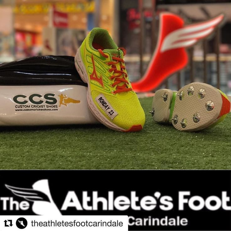 Thanks for the support Ben and Luke Ronday. Always the best service at #AthletesFoot Carindale @theathletesfootcarindale . Great place to get your wheels prior to spiking. #bestinthebusiness #shoes