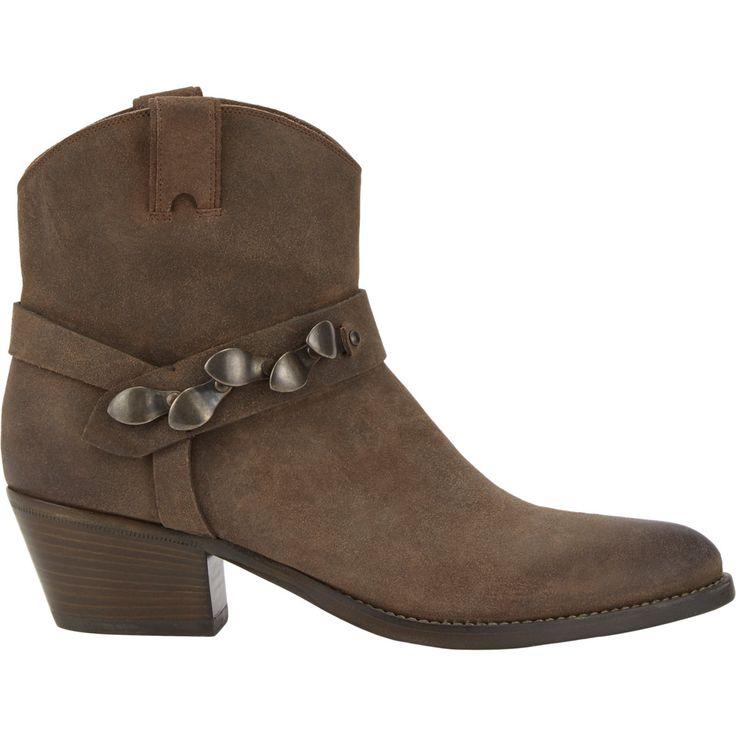 Sartore Embellished-Strap Western Ankle Boots at Barneys.com