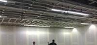 Media Strom, Μαρκόπουλο Αττικής  Μελέτη - Κατασκευή: ACRM AE    Εργασίες ξηράς δόμησης: Dorel Bivol  Δάπεδα Knauf GifaFloor για τη δημιουργία κερκίδων στο αμφιθέατρο του εργοστασίου  Χωρίσματα και οροφές γυψοσανίδων Knauf