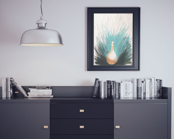 For sale: Acrylic animal painting PEACOCK