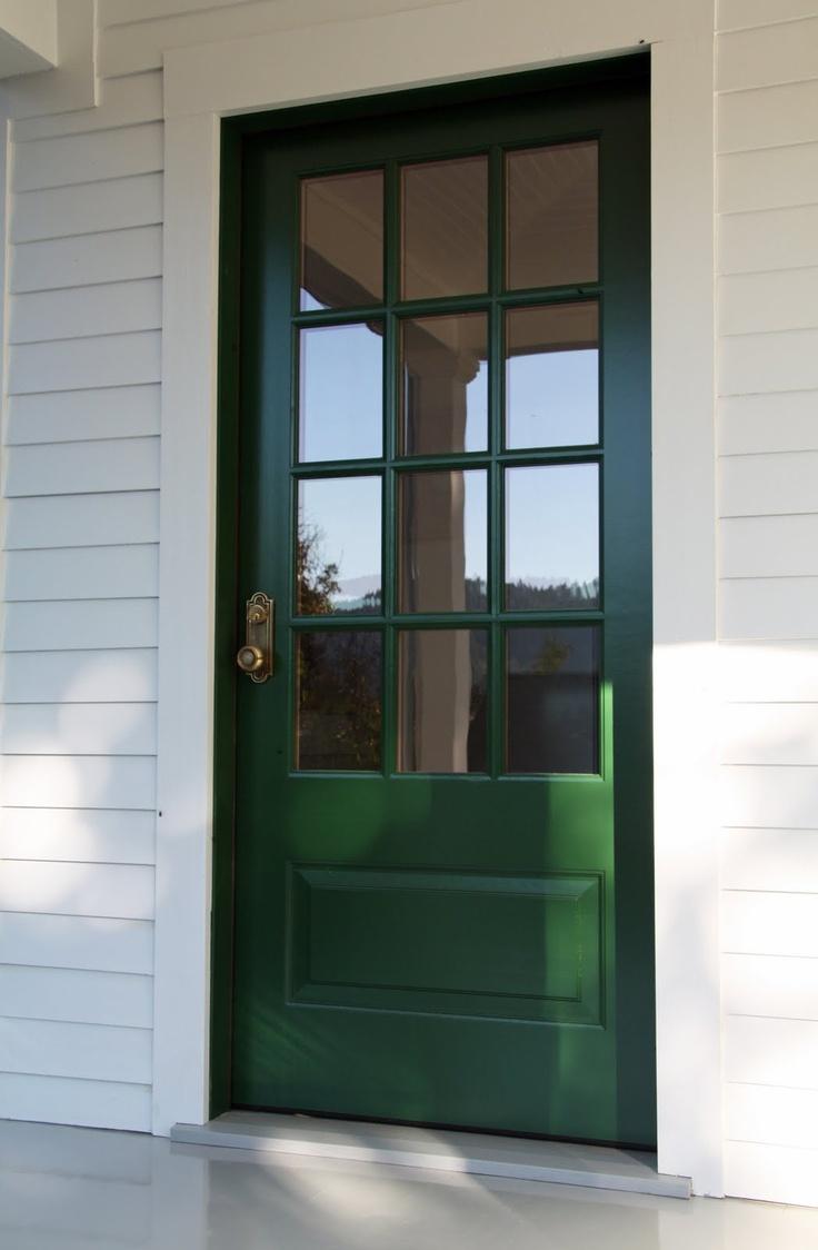 Simpson Door, Emtek Hardware And Love The Color