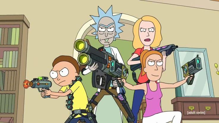 """Rick y Morty"" (Justin Roiland y Dan Harmon, Adult Swim/Netflix)"