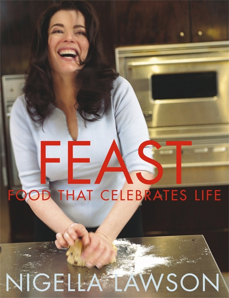 Nigella Feasts is on Food TV - Wednesdays at 3.30pm, 7.30pm & 11.30pm.