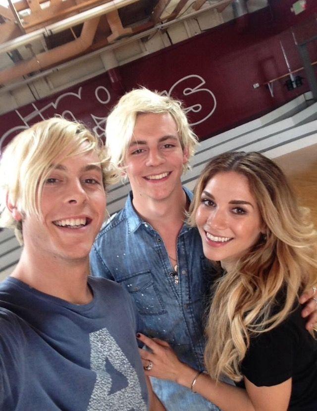 Riker, Allison, and Ross