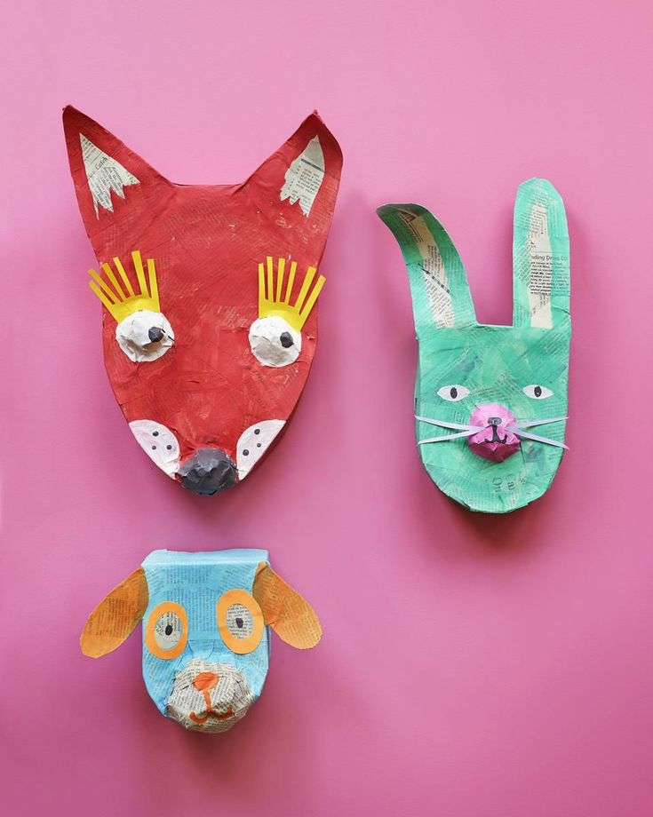 Jump-start your child's creativity with these simple crafts made from all varieties of colorful paper.