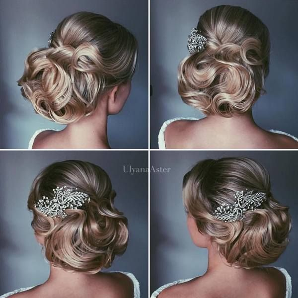 Wedding Updo Hairstyles for Long Hair from Ulyana Aster_24 ❤ See more: http://www.deerpearlflowers.com/wedding-updo-hairstyles-for-long-hair-from-ulyana-aster/2/