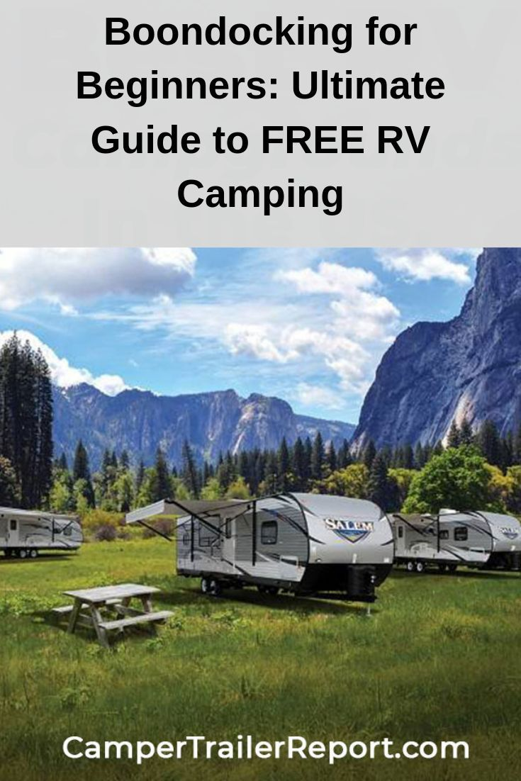 Boondocking for Beginners: Ultimate Guide to FREE RV Camping