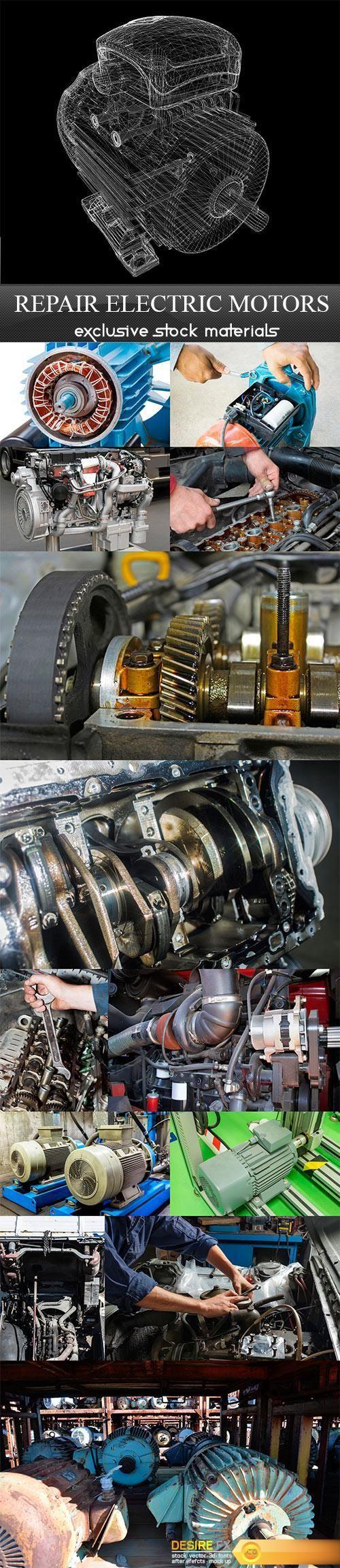 Repair electric motors - 14 UHQ JPEG  http://www.desirefx.me/repair-electric-motors-14-uhq-jpeg/