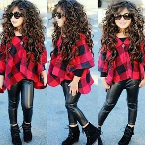 #KidsFashion Women, Men and Kids Outfit Ideas on our website at 7ootd.com #ootd #7ootd