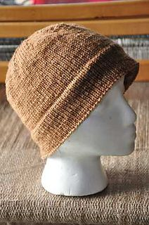 Free Knitting Pattern Name: Historical Knitted Cap Pattern by Nina Bates-Thanks for sharing Nina!