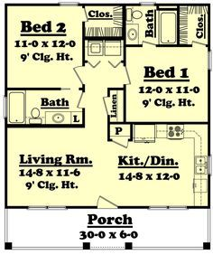 Hunters Ridge House Plan