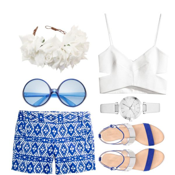 Ready for a day in CocoCay.Beach Style, Ines Madrid, Cruises Wear, Cruise Wear, Crui Vacations, Polyvore, Cruises Vacations, Crui Wear, Bahamas Cruises