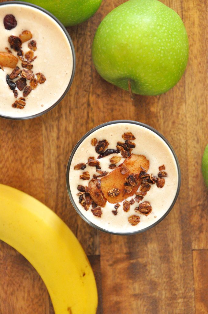 how to make a healthy banana apple smoothie