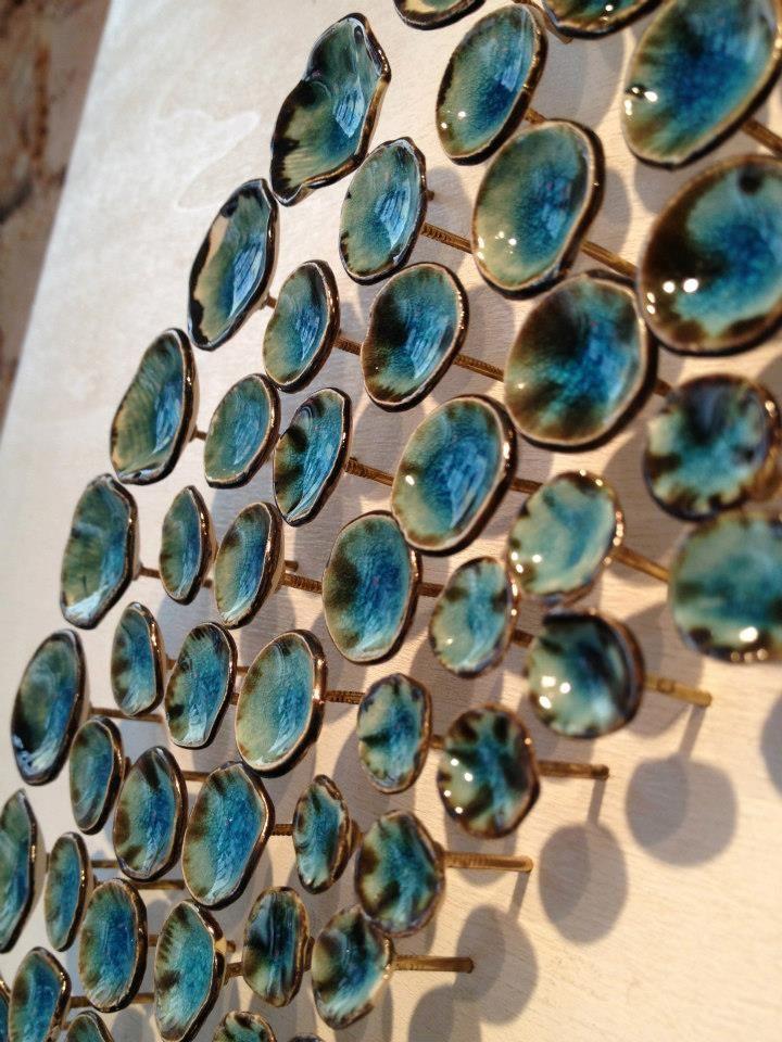 Ceramics Ceramic Art Ceramic Installation By Hale For Hedonia Art Shop Ceramic Wall Art