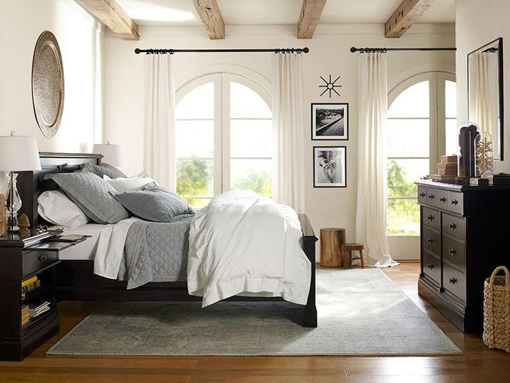 Bedroom Design Ideas With Black Furniture best 25+ pottery barn bedrooms ideas on pinterest | pottery barn