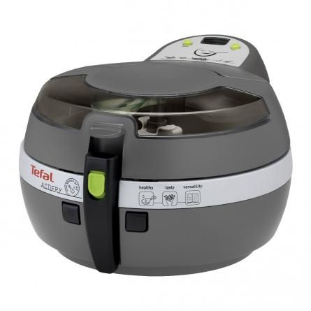 Cook your favourite food quickly and healthily with the Tefal ActiFry Plus Fryer in Black.