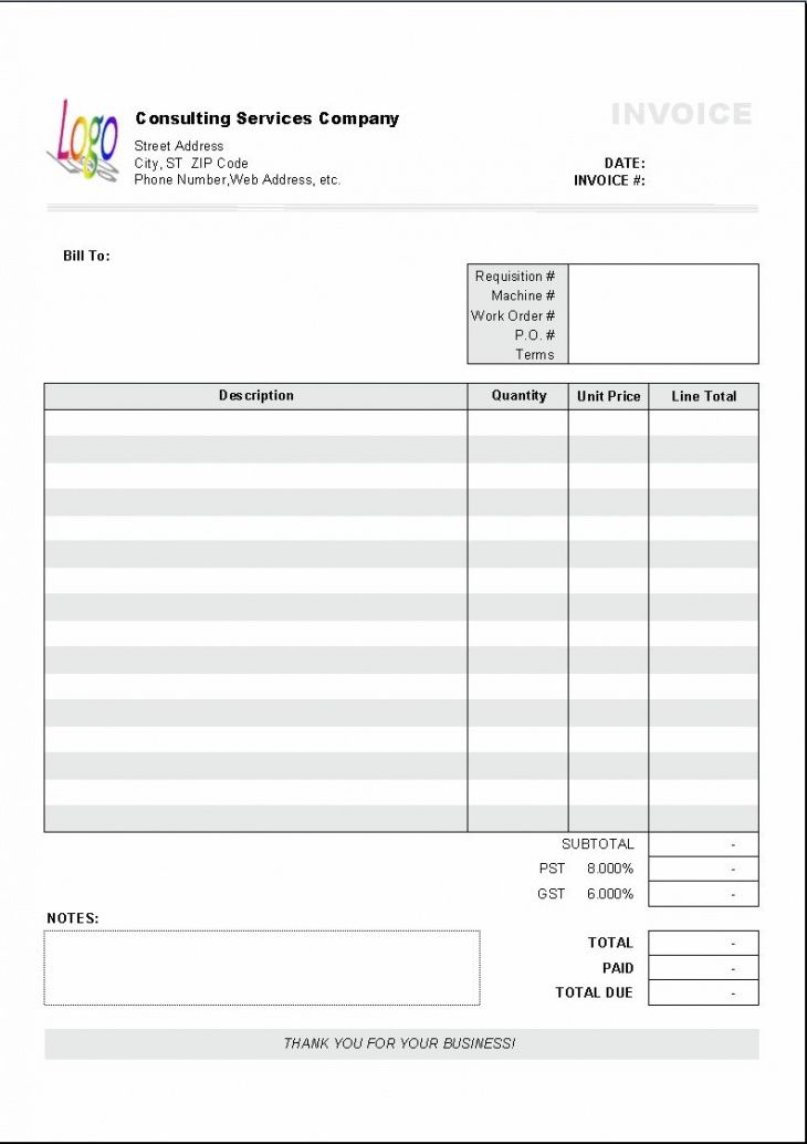 Explore Our Example Of Personal Service Invoice Template Invoice Template Word Invoice Template Invoice Sample