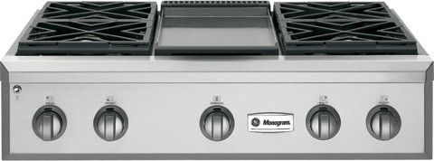 Stainless Steel Professional Gas Rangetop contemporary cooktops