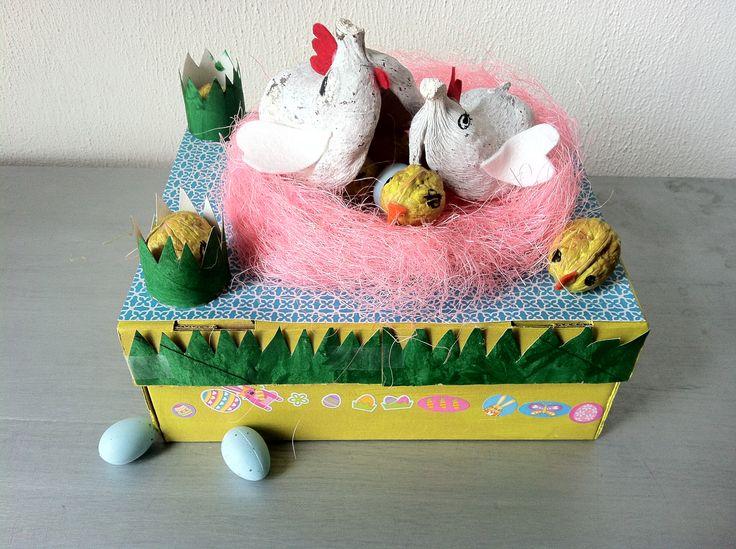 'Paasdoos' Easter breakfast box for a friend.