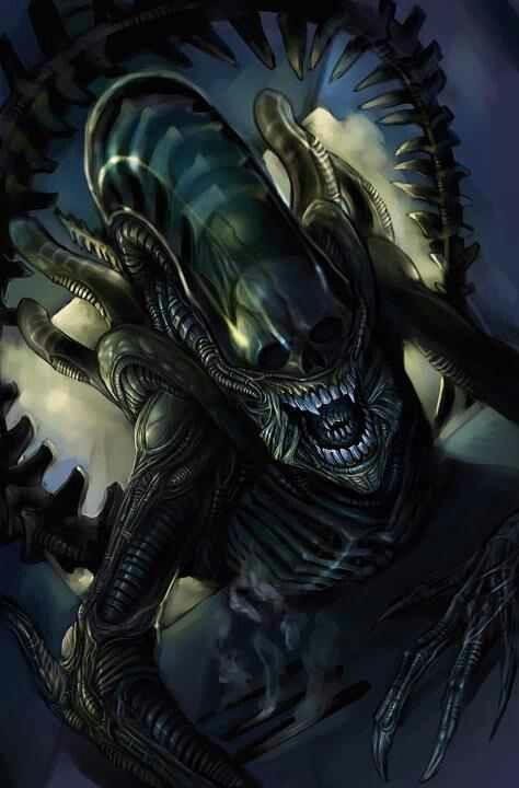 NECA Aliens / Alien VS Predator Alien 10 Inch Action