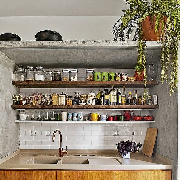 Cozinha organizada gastando pouco - Casa e Jardim | Galeria de fotos