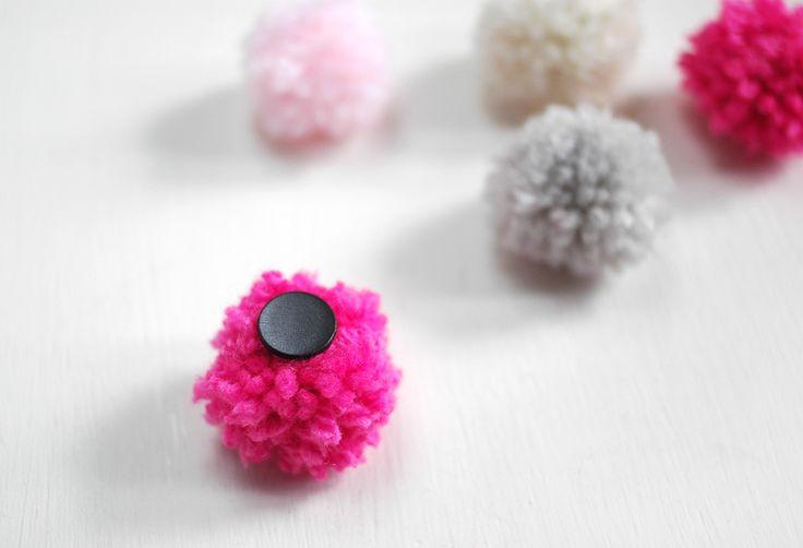 DIY Pom Pom Magnets | AO at Home Blog