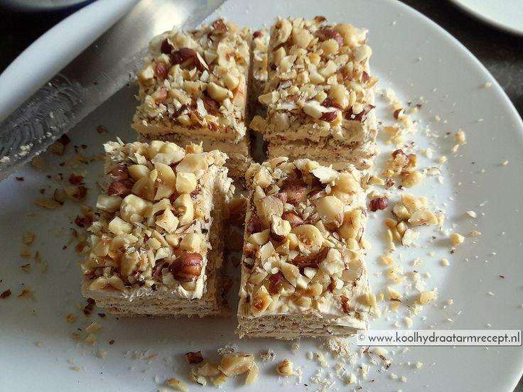 suikervrij hazelnoot schuimgebak